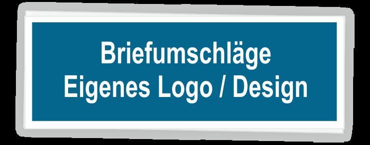Briefumschläge mit eigenem Logo