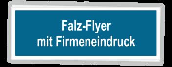 Falz-Flyer MIT Firmeneindruck