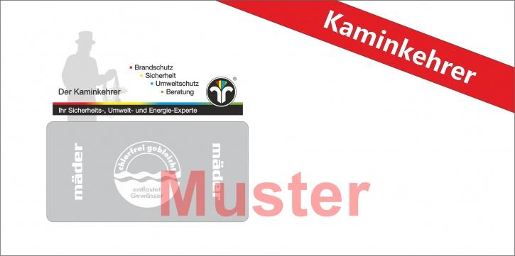 """Briefumschläge DIN Lang mit Dienstleistungsmarke """"Kaminkehrer"""""""