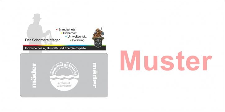 """Briefumschläge DIN Lang mit Emblem Florian """"Schornsteinfeger"""""""