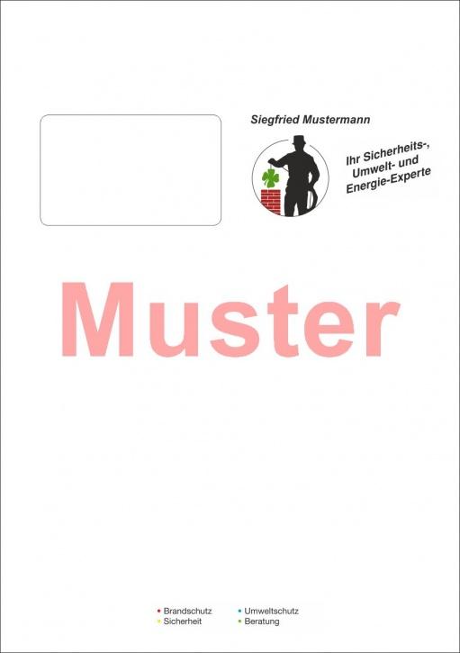 """Briefumschläge DIN C4 """"eigenes Design"""" 4-farbig / 1-seitig"""