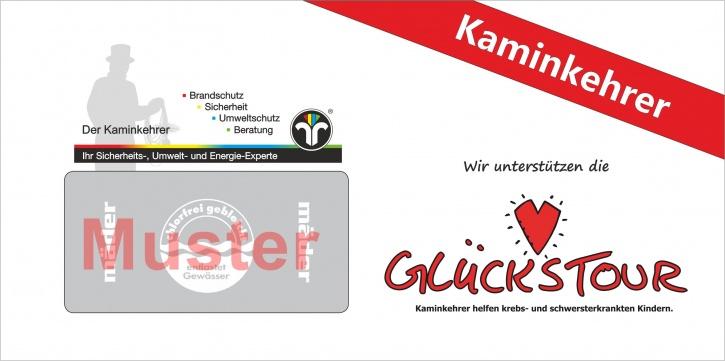 """Briefumschläge """"Glückstour"""" - Kaminkehrer"""