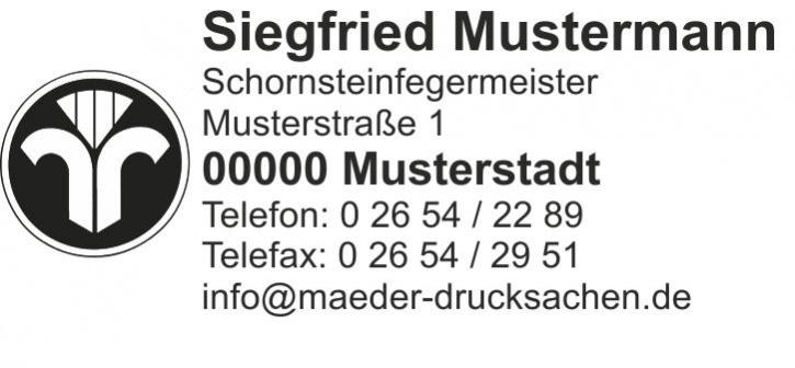 """Holzstempel, Emblem """"Dienstleistungsmarke"""" bis 7 Zeilen"""