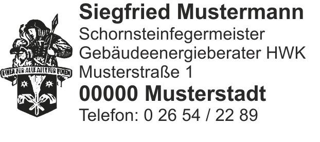 """Holzstempel, Emblem """"Florian"""" bis 7 Zeilen"""