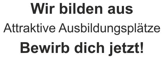 """Printy 4912, """"Wir bilden aus"""" bis 6 Zeilen"""