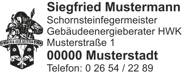"Printy 4913, Emblem ""Florian"" bis 6 Zeilen"