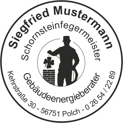 """Holzstempel, Emblem """"Ihr eigenes Logo""""  RUND"""