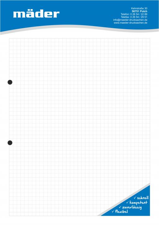 Mäder - Notizblock DIN A4