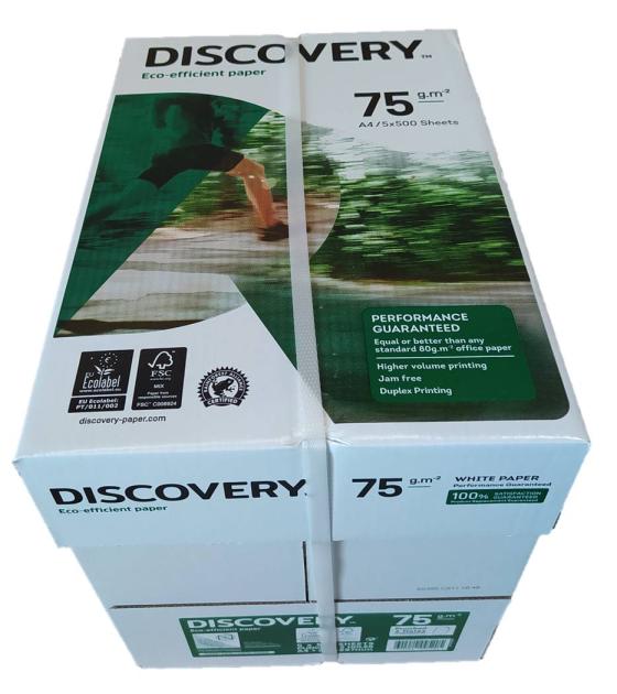 Kopierpapier DIN A4 - 75 g gelocht