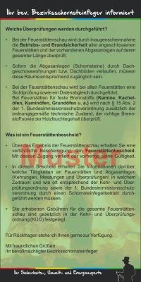 "Kompakt-Flyer ""Feuerstättenschau"", ohne Firmeneindruck"